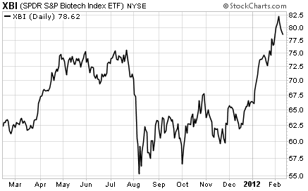 Biotech Stock Index (XBI) Up 17% This Year