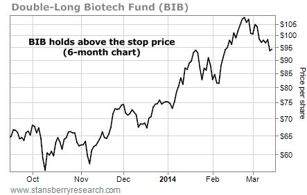 BIB stock chart